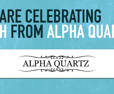 We Are Celebrating Zach from Alpha Quartz