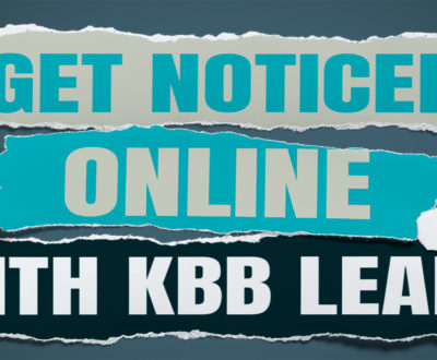 Get Noticed Online With KBB Leads Image